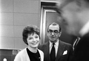 Anita Gillette and Irving Berlin