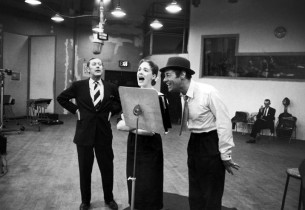 Robert Coote, Julie Andrews and Rex Harrison