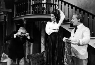 Robert Coote, Christine Andreas and Ian Richardson (