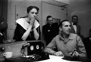 Julie Andrews with Goddard Lieberson