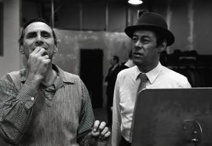 Goddard Lieberson and Rex Harrison