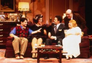 Evan Pappas, Lainie Kazan, Tim Curry, David Lipman, and Mary Stout (Photo: Joan