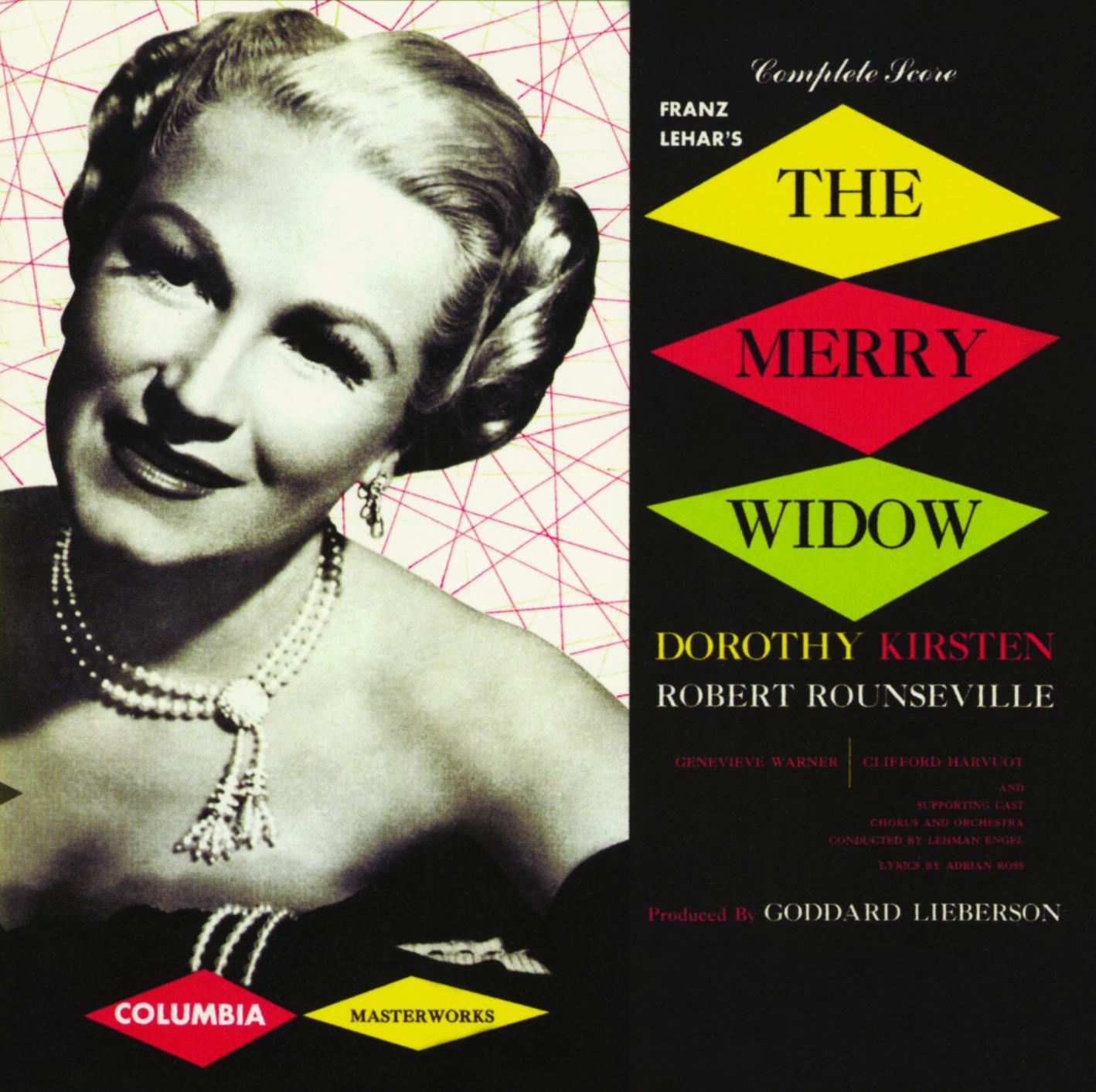 The Merry Widow – Studio Cast Recording 1952