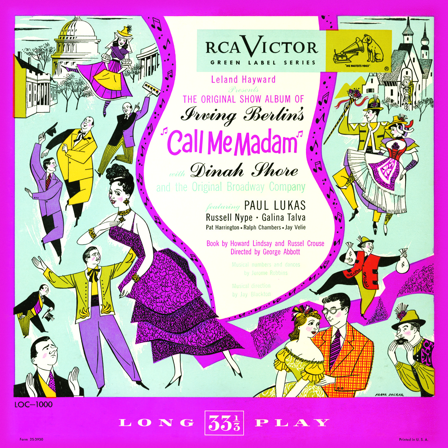 Call Me Madam – Musical Cast Album 1950