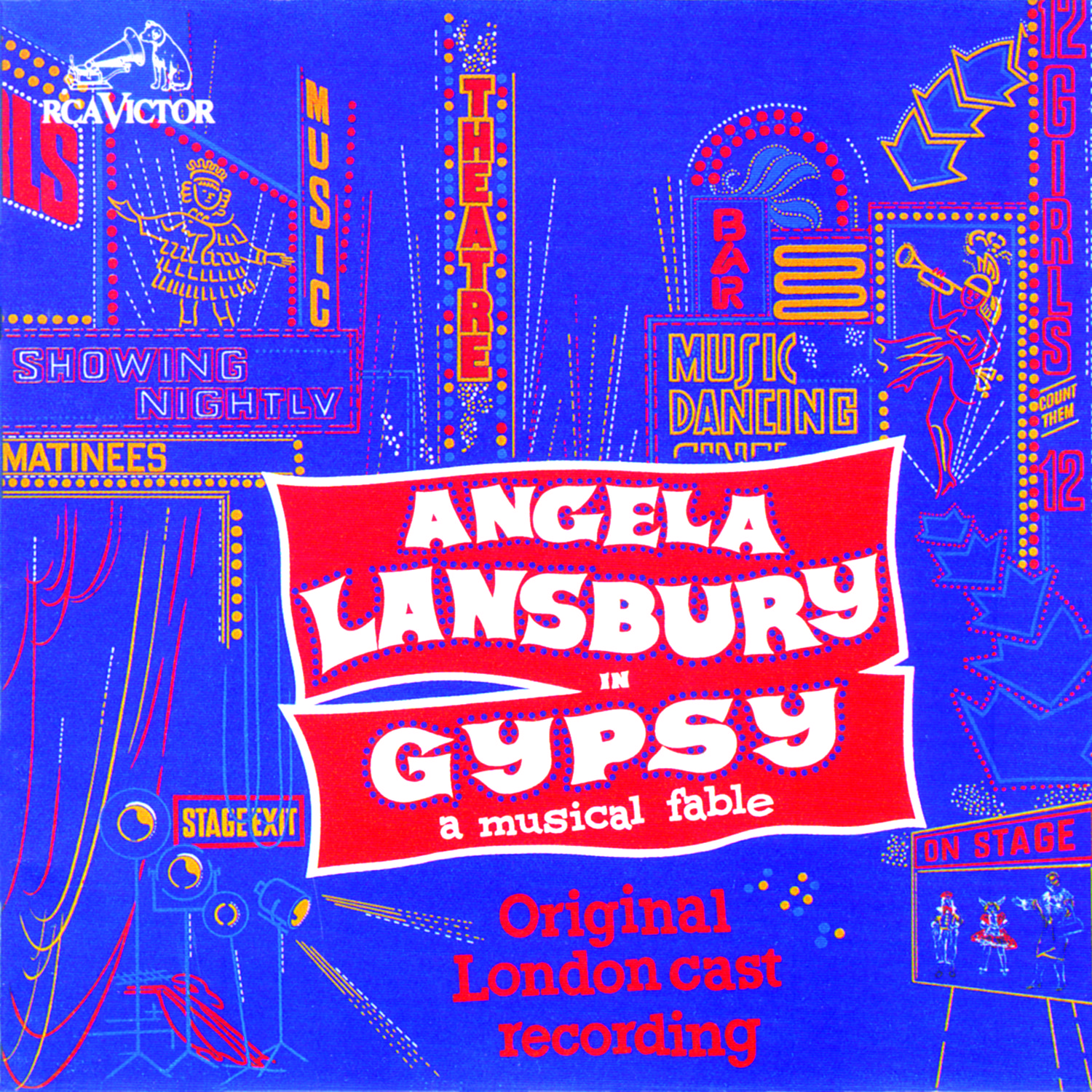 Gypsy – Original London Cast 1973