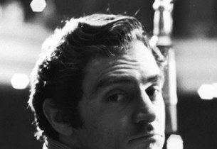 In the studio, Anthony Newley with The Urchins: Sally Smith (in blue sweater), L