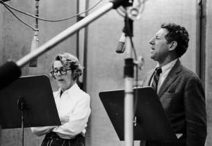 Ruby Keeler and Jack Gilford