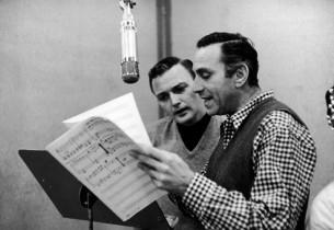 Jack Cassidy and Goddard Lieberson (Photo: Dan Weiner)