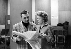Jack Cassidy and Barbara Ruick (Photo: Dan Weiner)