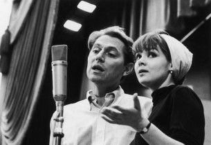 John Cullum and Barbara Harris recording