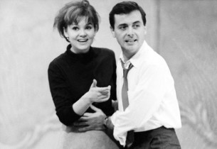 Barbara Harris and William Daniels (Photo: Henri Dauman)