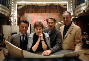Alan Jay Lerner, Barbara Harris, John Cullum and Burton Lane