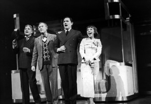 "Dean Dittman, George Coe, John Cullum and Imogene Coca (""Five Zeroes"")"