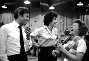 Adolph Green, Betty Comden and Nancy Walker (Photo: Don Hunstein)