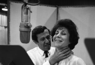 Adolph Green and Betty Comden