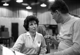 Betty Comden and Leonard Bernstein
