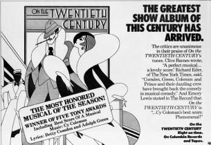 Original Cast Album Advertisement
