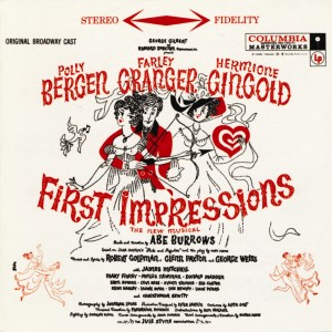 First Impressions – 1959
