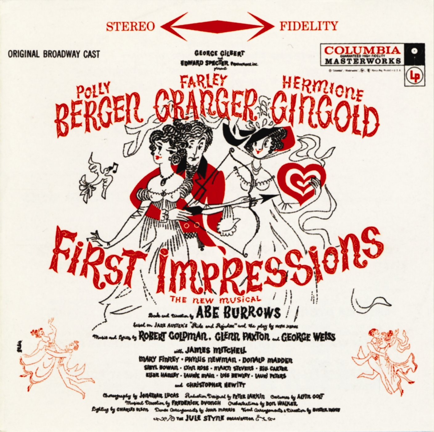 first impressions the official masterworks broadway site first impressions 1959