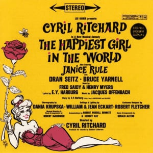 The Happiest Girl in the World – Original Broadway Cast 1961