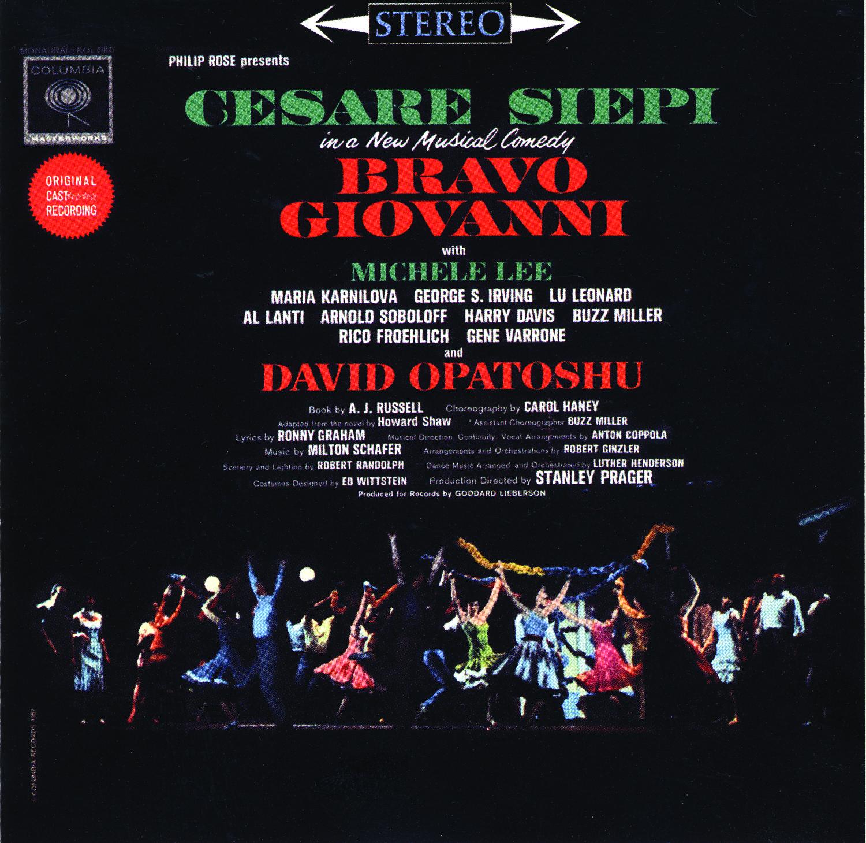 Bravo Giovanni – Original Cast Recording 1962