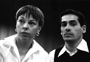 Two dancers: Carol Haney and Peter Gennaro