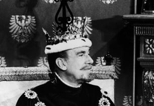 Walter Pidgeon as The King