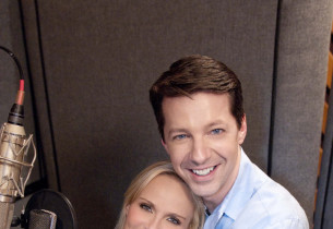 Kristin Chenoweth and Sean Hayes (Photo: Jimmy Asnes)