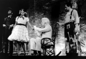 Cleavon Little, Melba Moore, John Heffernan and Sherman Hemsley