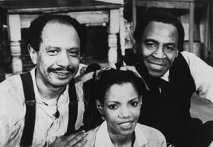 Sherman Hemsley, Melba Moore and Robert Guillaume, who replaced Cleavon Little,