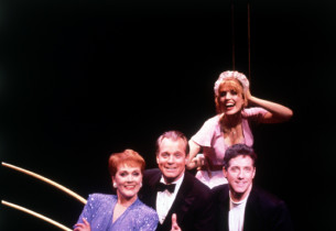 The cast on stage (Photo by: Joan Marcus)