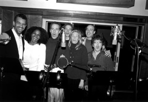(l. to r.) Brian Stokes Mitchell, Audra McDonald, Mark Jacoby, Steven Sutcliffe,