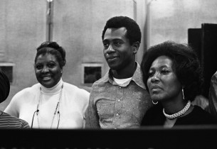 Virginia Capers, Herb Downer and Ernestine Jackson (Photo: Don Hunstein)