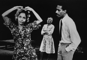 Debbie Allen, Ernestine Jackson and Joe Morton in a scene from the show