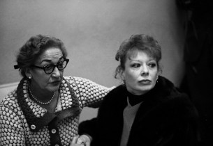 Lyricist Dorothy Fields and Gwen Verdon
