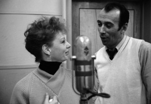 Gwen Verdon and Richard Kiley