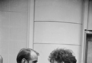 Director Bob Fosse and Gwen Verdon