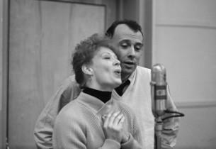 Gwen Verdon and co-star Richard Kiley
