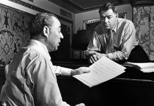 Richard Rodgers, left, and Oscar Hammerstein II