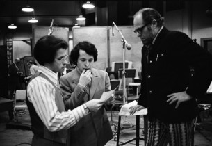 Allan Gruet, David Garfield with Milton Greene