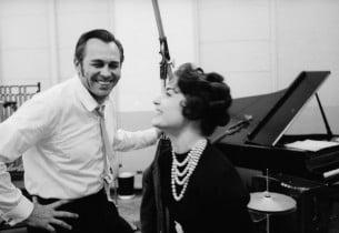 Howard Keel and Carol Lawrence (Photo: David Drew Zingg)