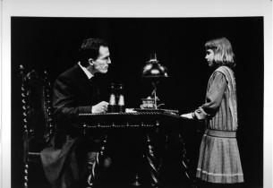 Robert Westenberg and Daisy Eagan (Photo: Bob Marshak)
