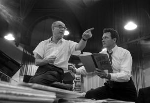 Conductor Franz Allers with John Raitt