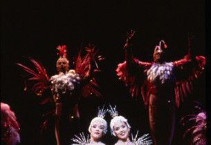 "Emily Skinner and Alice Ripley in the ""Rare Songbirds"" number (Photo:Joan Marcus"