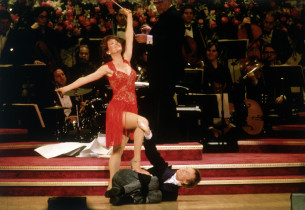 Karen Ziémba & Bill Irwin (Photo: Steve Sherman)