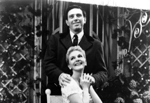 Mary Martin and Theodore Bikel in a scene from the show