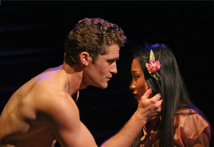 Matthew Morrison and Li Jun Li (Photo: Joan Marcus)