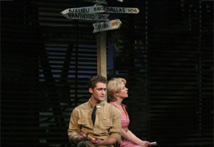 Matthew Morrison and Kelli O'Hara (Photo: Joan Marcus)