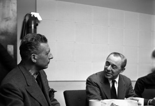 Ezio Pinza and composer Richard Rodgers