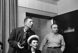 Ezio Pinza, Mary Martin and conductor Salvatore dell'Isola